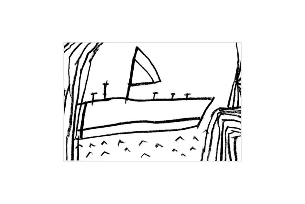 海/オリジナルイラスト