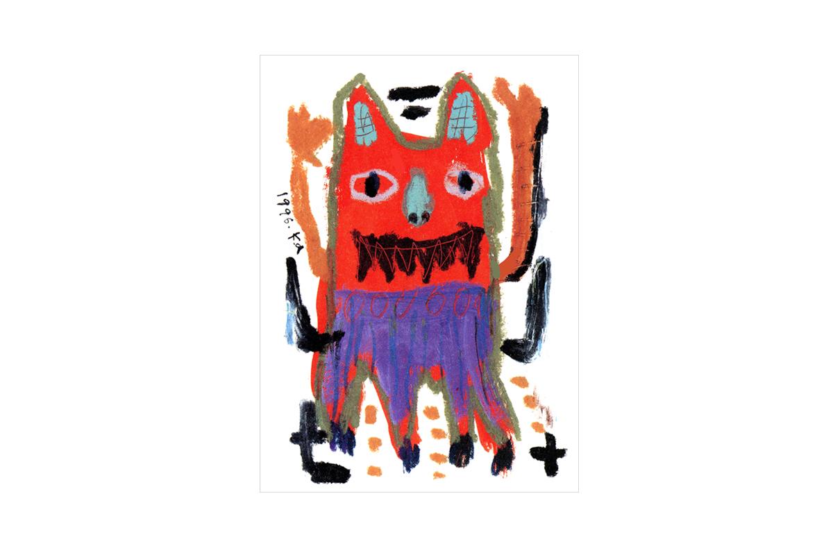赤鬼/オリジナルイラストレーション