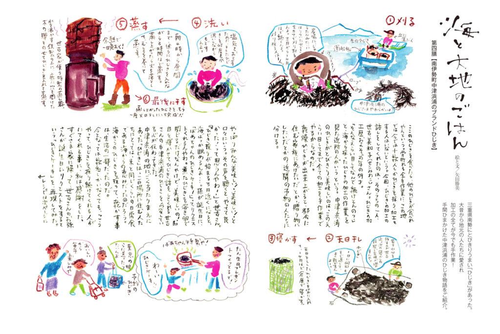 小冊子カラス連載/文、絵、レシピ制作