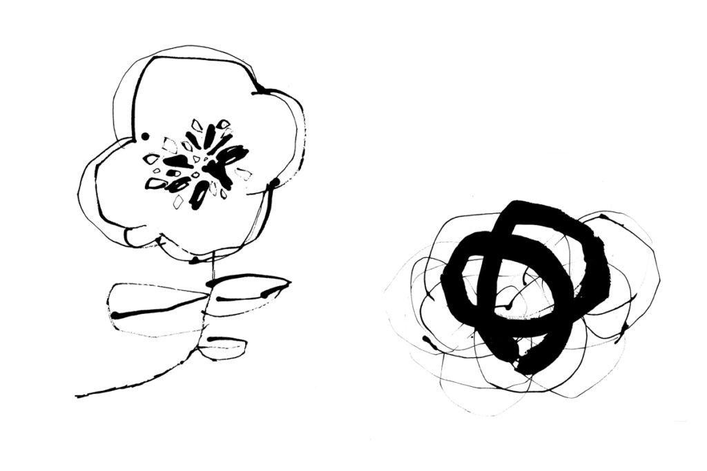 モノクロ線画/オリジナル