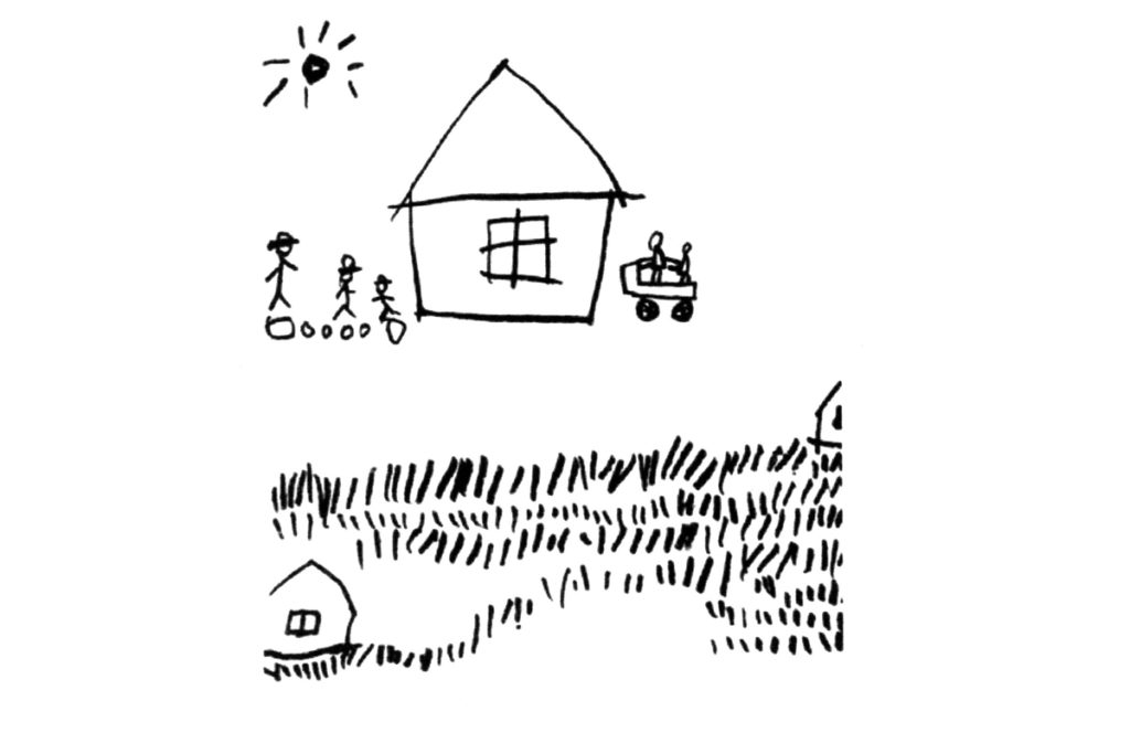 散歩/オリジナルポストカード