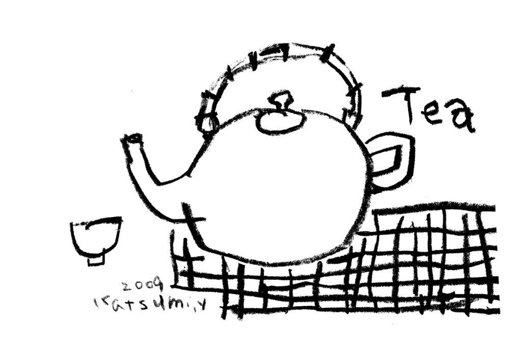 お茶の時間/オリジナルポストカード