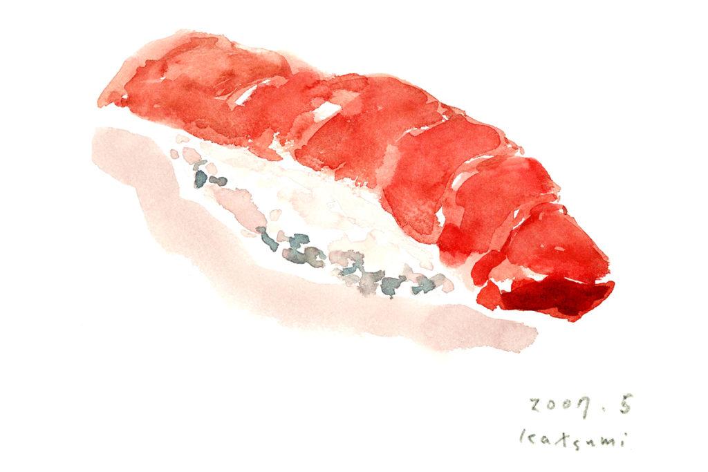 まぐろ寿司/オリジナルイラスト