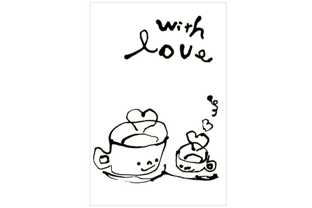 withlove/オリジナルポストカード