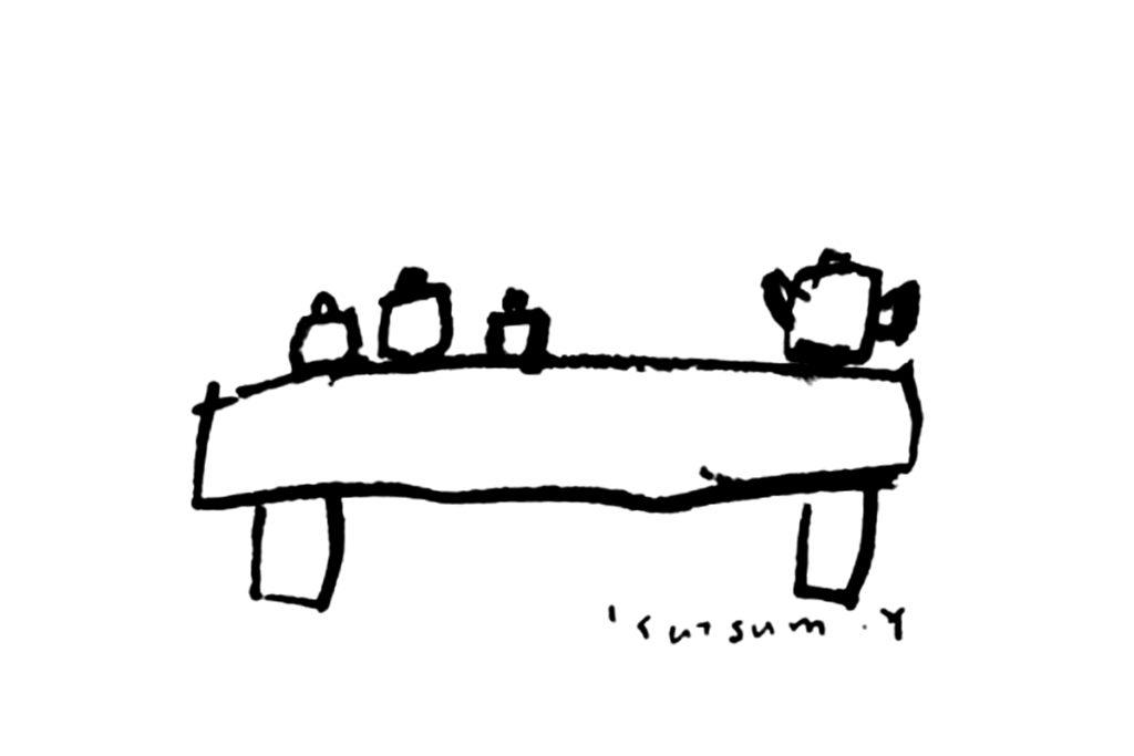 テーブル/オリジナルポストカード