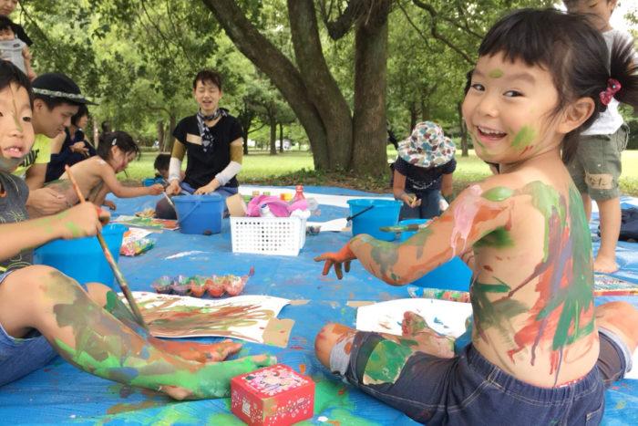 「  親子のための森のアートセラピー」2019年春から再開😄