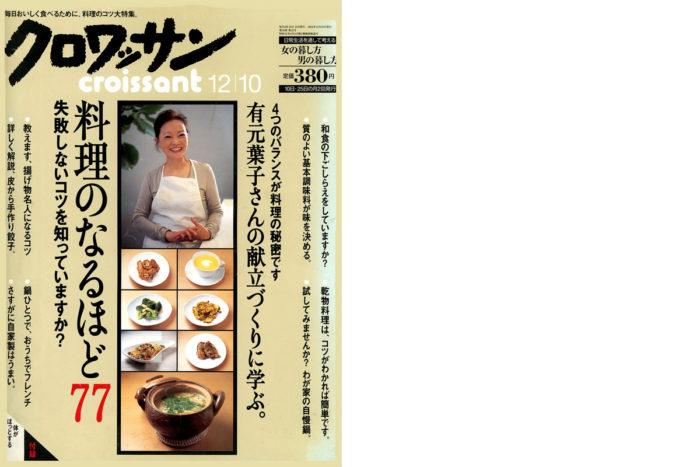 マガジンハウス雑誌「クロワッサン」2004年(650号)